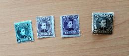 Edifil 242,245,246,247.nuevos Sin Señal De Fijasellos - Unused Stamps