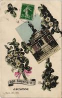 CPA AUXONNE - Souvenir Fleur (116049) - Auxonne