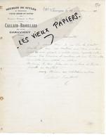 86 - Vienne - CHAUVIGNY - Facture CAILLAUD-BROUILLARD - Meubles De Styles - 1905 - REF 161B - 1900 – 1949