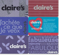 COLLECTION CLAIRE S        6 CARTES LUXE - Frankreich