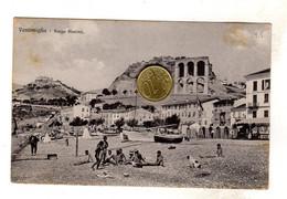 Ventimiglia Borgo Marina Imperia Viaggiata 1921 - Imperia