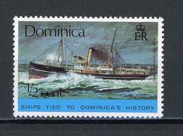 "DOMINIQUE  - BATEAU LE ""YARE"" - N° Yvert 427** - Dominica (1978-...)"
