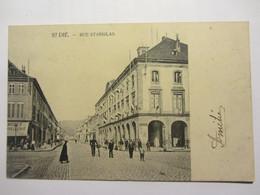 Cpa SAINT DIE (88)  Rue Stanislas - Saint Die