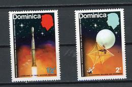 DOMINIQUE - METEO - N° Yvert 348+349* - Dominica (1978-...)