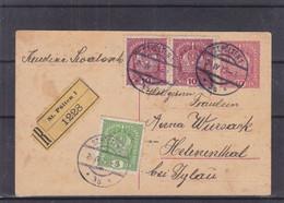 Autriche - Carte Postale Recom De 1919 - Entier Postal - Oblit St Polten - Exp Vers Helenenthal - Storia Postale
