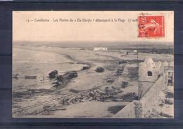 """Maroc. Casablanca. Les Marins Du """"du Chayla"""" Débarquent à La Plage (7 Août) - Casablanca"""