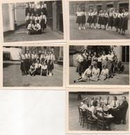 SCHOOLFOTOS  -  UIT  GENT   ( STUDIO JOS MASSON GENT    6  OP 9  CM - Fotos