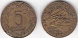 Cameroun: 5 Francs 1958 - Cameroon