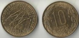 Cameroun: 10 Francs 1967 - Cameroon