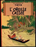 Hergé - Tintin - L'oreille Cassée - Casterman - ( 1966 ) . - Tintin