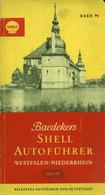"""Topographie Landkarte 1958 Deko Shell Reklame-Autoführer Atlas Bd 8 """" Westfalen - Niederrhein """" - Topographische Karten"""