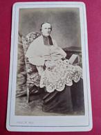 Photo CDV Second Empire -  Georges Darboy Archevêque De Paris Fusillé Durant La Commune En 1871 - TBE - Ancianas (antes De 1900)