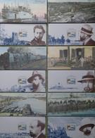 R719/4 - 2007 - ALBERT LONDRES - BLOCS SOUVENIRS - N°17 à 22 FEUILLETS NEUFS** - Cote (2020) : 60,00 € - Souvenir Blocks & Sheetlets
