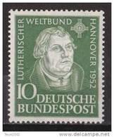 Men_ Bund 1952 - Mi.Nr. 149 - Postfrisch MNH - BRD