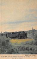 95-BOISSY-L'AILLERIE- TRAIN 1038, PRES DE BOISSY-L'AILLERIE SE REFLETE DANS LES EAUX DE LA VIOSNE - Boissy-l'Aillerie