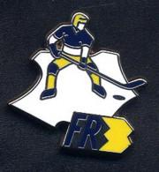 Pin's Carte De France  Chaine FR3 Hockey Sur Glace - Medien