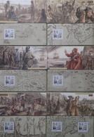 R719/5 - 2008 - QUEBEC - BLOCS SOUVENIRS - N°27 à 32 FEUILLETS NEUFS** - Cote (2020) : 60,00 € - Souvenir Blocks & Sheetlets