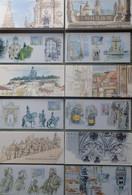 R719/6 - 2009 - LISBONNE - BLOCS SOUVENIRS - N°38 à 43 FEUILLETS NEUFS** - Cote (2020) : 60,00 € - Souvenir Blocks & Sheetlets