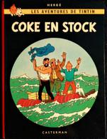 Hergé - Tintin - Coke En Stock - Casterman - ( 1967 ) . - Tintin
