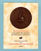 Carnet France 1963 - CROIX ROUGE 1963 - YT 2012 - N** - Red Cross