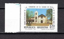 ARGENTINE N° 988  NEUF SANS CHARNIERE   COTE 0.50€   CLOITRE SAINT FRANCOIS    SANTA FE - Argentina