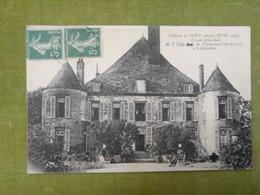 Château De Pouy (Aube) (XVIIe Siècle) - Facade Principale - Autres Communes