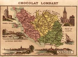 CHROMO CHOCOLAT LOMBART DEPARTEMENT VENDEE - Lombart