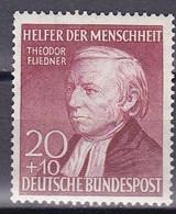 Men_ Bund 1952 - Mi.Nr. 158 - Postfrisch MNH - BRD