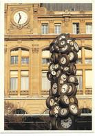 CPM - édit. PARIS-CARTES - P 17 - PARIS : L'HEURE POUR TOUS - Gare ST-Lazare - Métro Parisien, Gares