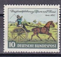 Men_ Bund 1952 - Mi.Nr. 160 - Postfrisch MNH - BRD