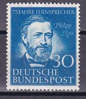 Men_ Bund - Mi.Nr. 161 - Postfrisch MNH - BRD