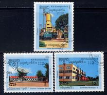 KAMPUCHEA  - 854/856° - 10 ANNÉES DE PROGRÈS TECHNIQUE - Kampuchea