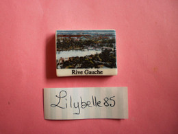 Feve PERSO En Porcelaine - RIVE GAUCHE - CHEVALIER JOIGNY 2012  ( Feves Figurine Miniature ) - Regioni