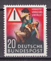 Men_ Bund 1953 - Mi.Nr. 162 - Postfrisch MNH - BRD