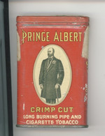 Prince Albert (boite à Tabac Pleine) Crimp Cut - Long Burning Pipe And Cigarette Tobacco (boite Métal) - Empty Tobacco Boxes