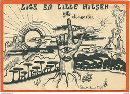 DK101,  * ARTIST SIGNED * LITTLE HELLO *  SENT 1969 - Autres Illustrateurs
