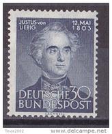 Men_ Bund 1953 - Mi.Nr. 166 - Postfrisch MNH - BRD