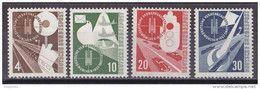 Men_ Bund 1953 - Mi.Nr. 167 - 170 - Postfrisch MNH - BRD