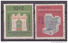 Men_  Bund 1953 - Mi.Nr. 171 - 172 - Postfrisch MNH - BRD