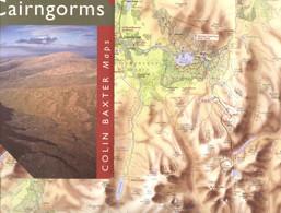 """Topographie Landkarte 2000 Deko 1:85.000 Schottland Scotland """" The Cairngorms (near Inverness) """" - Topographische Karten"""