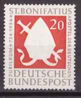 Men_  Bund 1954 - Mi.Nr. 199 - Postfrisch MNH - BRD