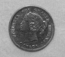 Silber/Silver Kanada/Canada Victoria Young Head, 1901, 5 Cents FVZ/aXF - Canada