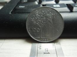 100 Lires Grand Module - Italie - Italiana. 1966 - 1946-… : República