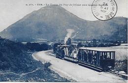63 - CEYSSAT - ORCINES - LE TRAIN TRAMWAY DU PUY DE DOME CACHET 1926 DE L'OBSERVATOIRE - PARFAIT ETAT - Unclassified
