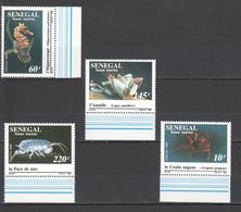 C692 1989 SENEGAL FISH & MARINE LIFE 1SET MNH - Marine Life