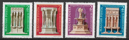 UNGHERIA 1975  GIORNATA DEL FRANCOBOLLO YVERT. 2447-2450  USATA VF - Used Stamps