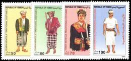 Yemen 2004 Traditional Mens Costumes Unmounted Mint. - Yemen