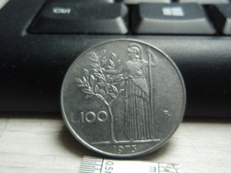 100 Lires Grand Module - Italie - Italiana. 1973 - 1946-… : República