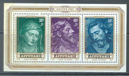 AITUTAKI  - MNH/** - 1981 - PAQUES EASTER - Yv BLOC 32 - Lot 22177 - Aitutaki