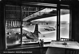Berlin Tempelhof, Zentralflughafen, Rollfeld - Tempelhof